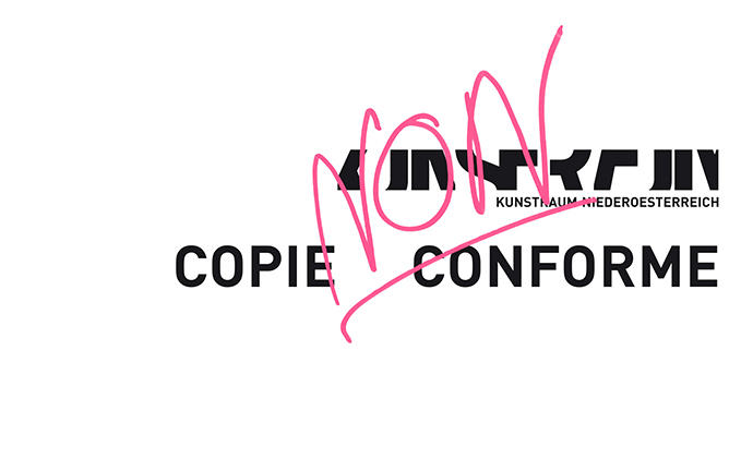 COPIE NON CONFORME (2014)
